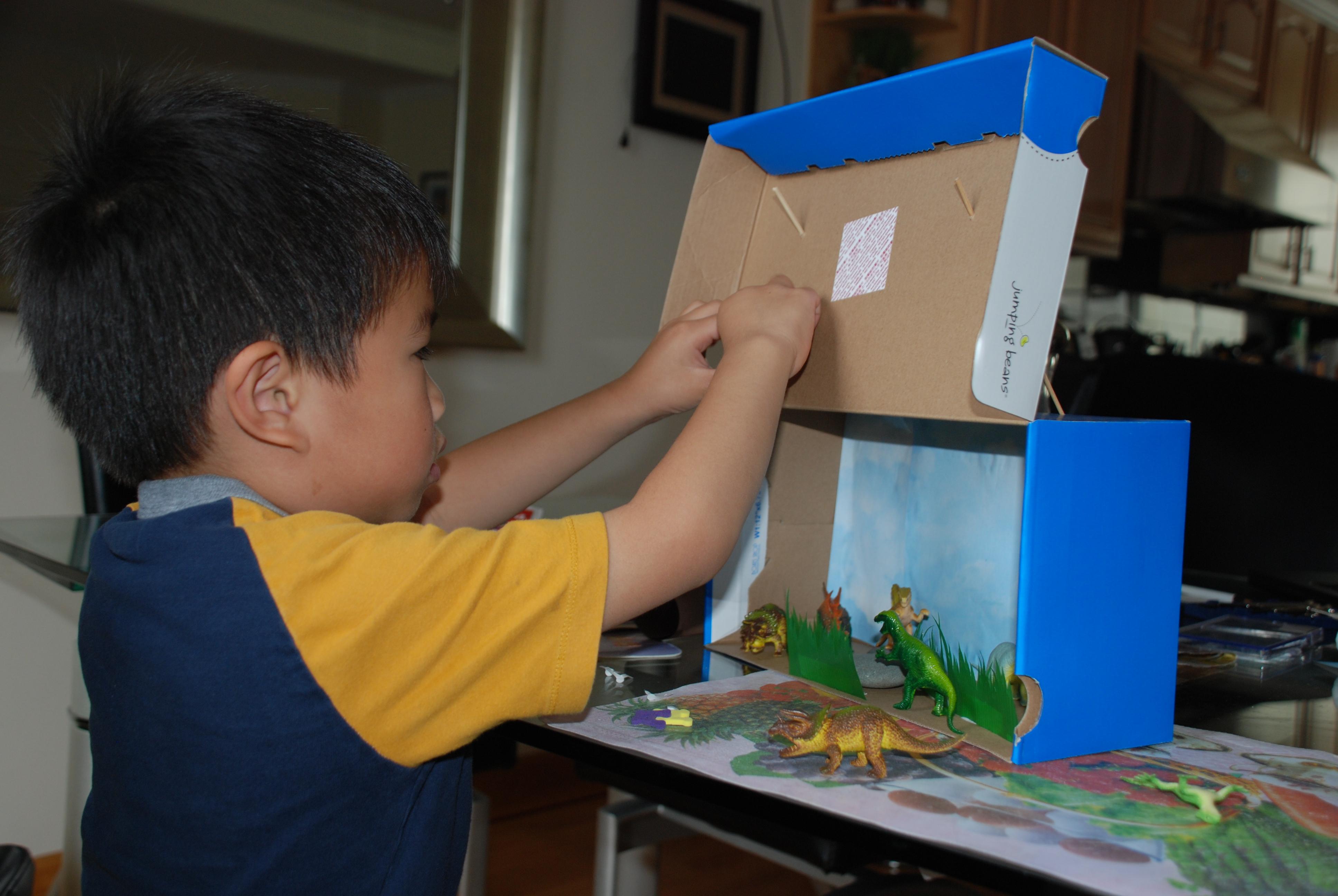 Dinosaur Shoebox Diorama | www.imgkid.com - The Image Kid ...