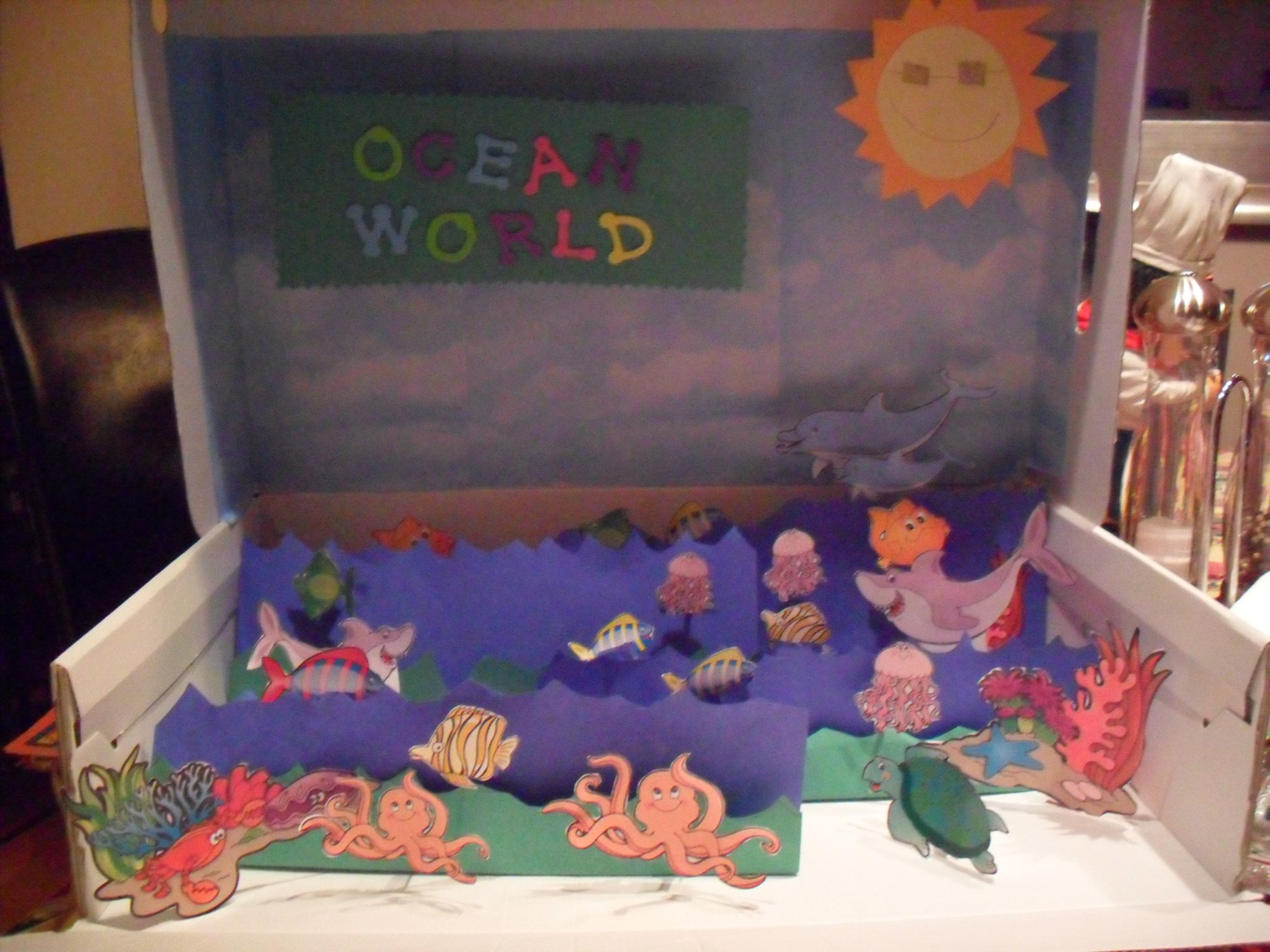 ocean floor project One of our standards states that students should model the features of the ocean floor last year, i decided to incorporate the modeling process into a project.