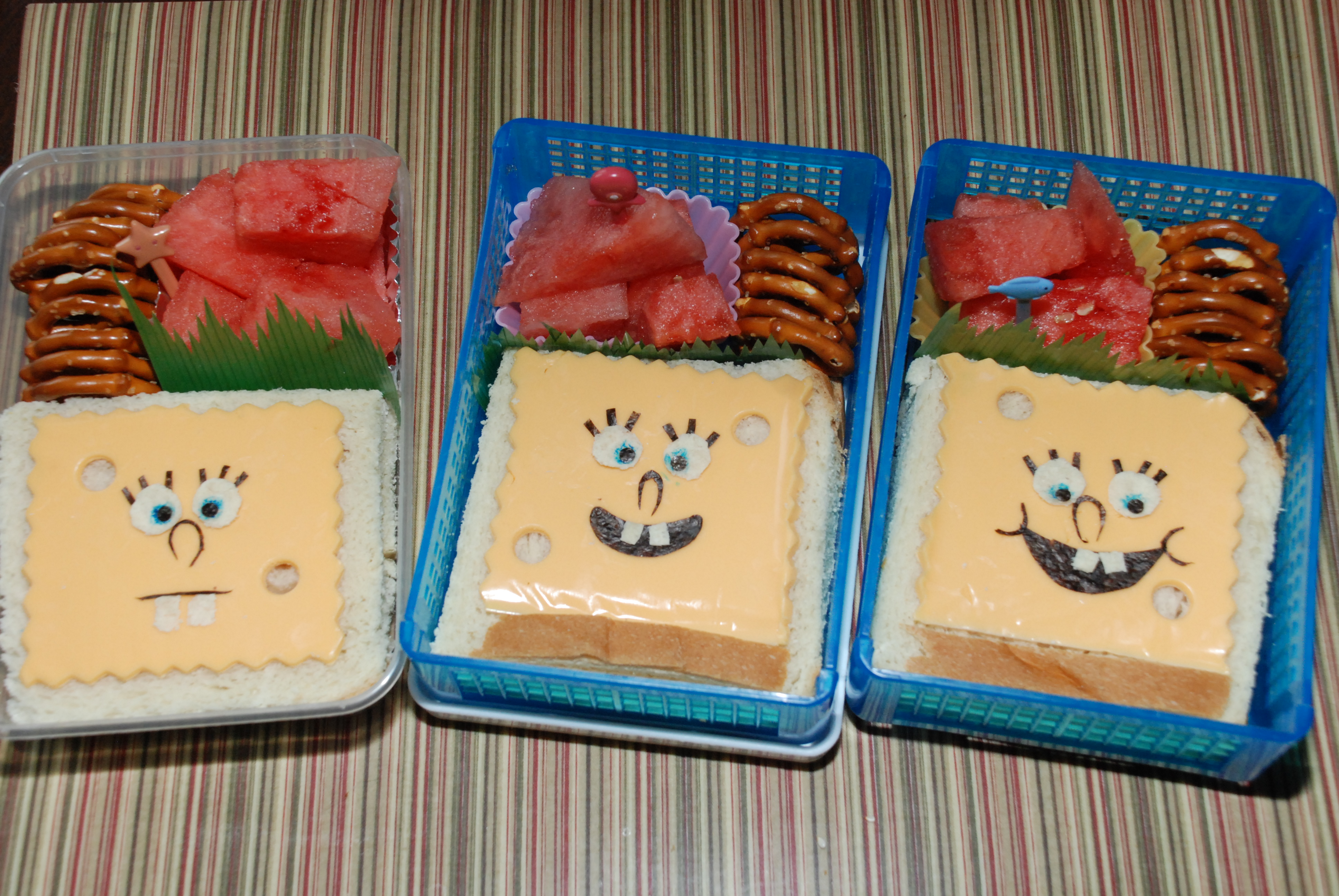 Uncategorized Spongebob Sandwich spongebob all about the kids luckily his cousin likes cheese so i whipped up 3 ham and sandwiches three for 3