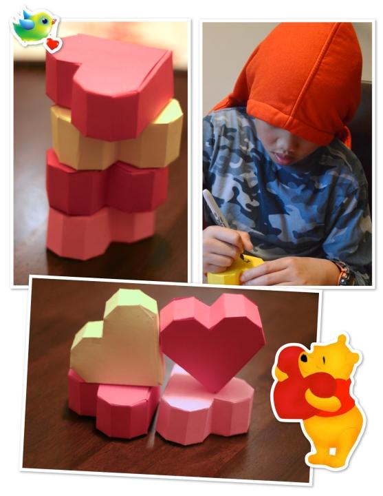 3Dhearts